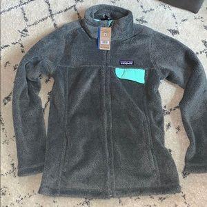 Patagonia full zip women re-tool jacket